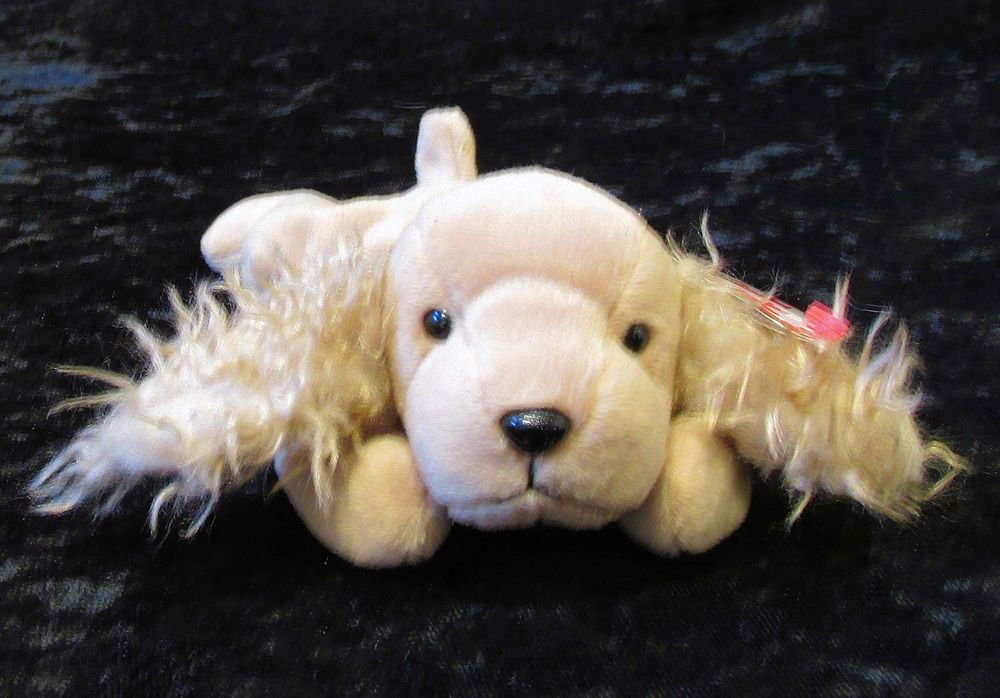 215fd1b9442 Beanie Babies Spunky January 14 1997 Brown Dog 1 14 1997 Beanie Baby Spaniel