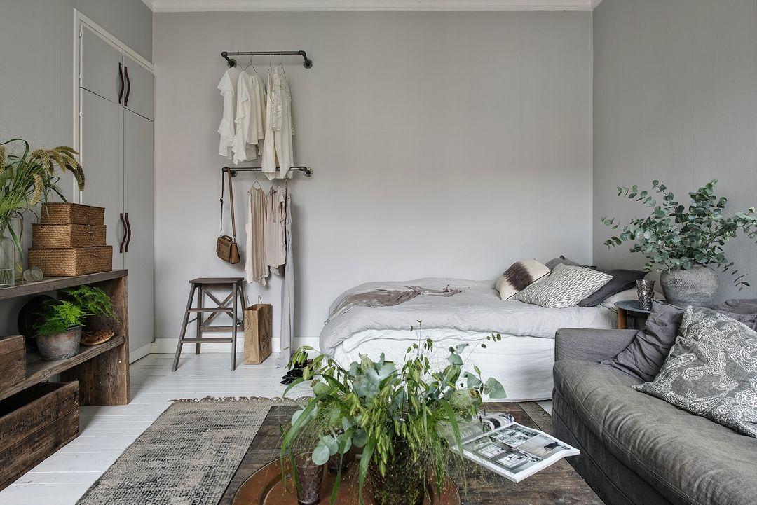 bouquets d 39 herbes petit espace pinterest deco studio studio et appartement. Black Bedroom Furniture Sets. Home Design Ideas