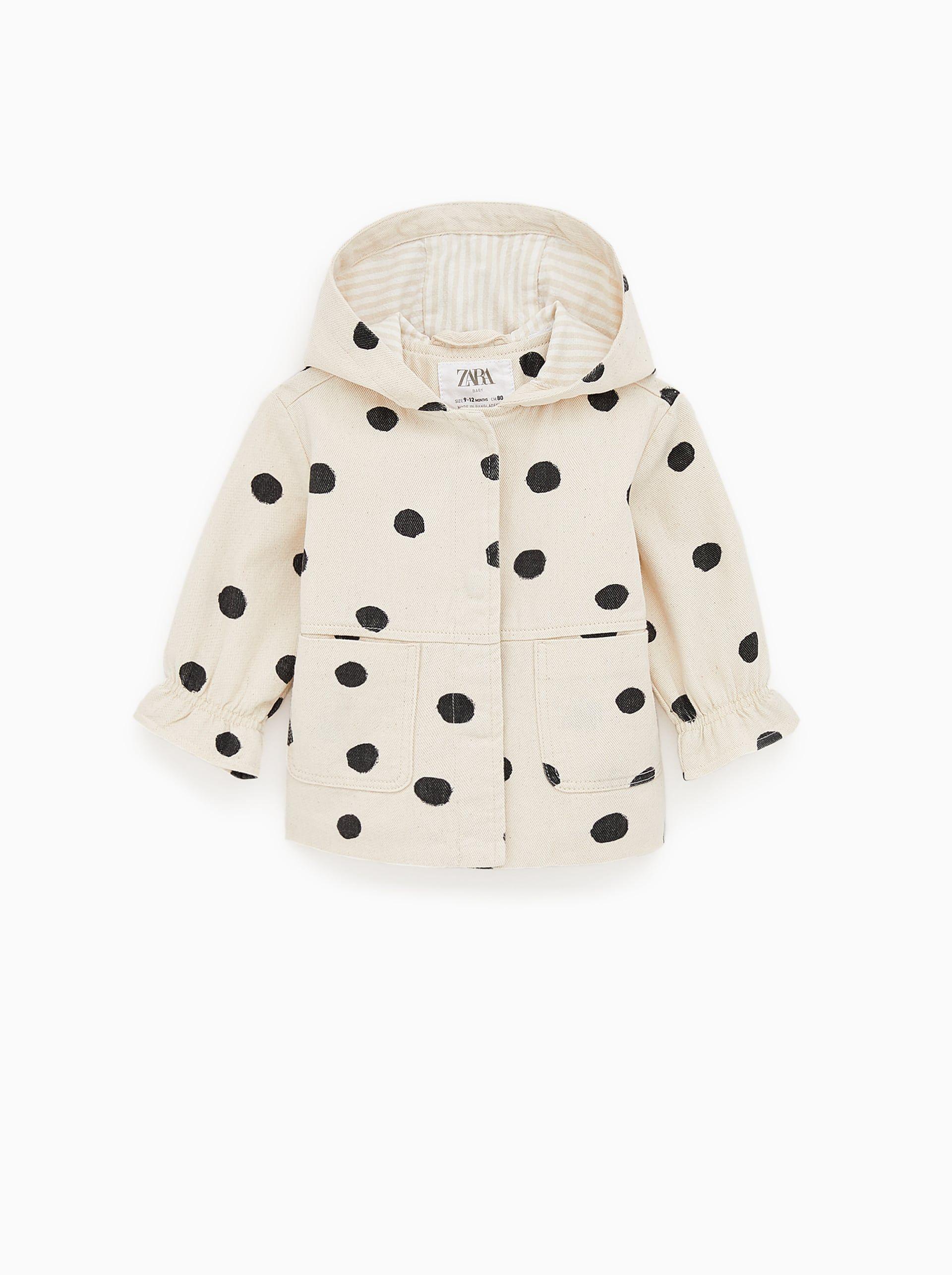 Image 1 Of Polka Dot Jacket From Zara Zara Kinder Jacken Fit
