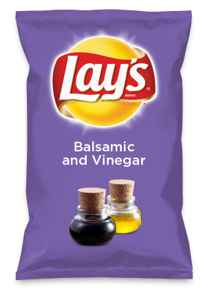 Wouldn't Balsamic and Vinegar be yummy as a chip? Lay's Do Us A Flavor is back, and the search is on for the yummiest flavor idea. Create a flavor, choose a chip and you could win $1 million! https://www.dousaflavor.com See Rules.