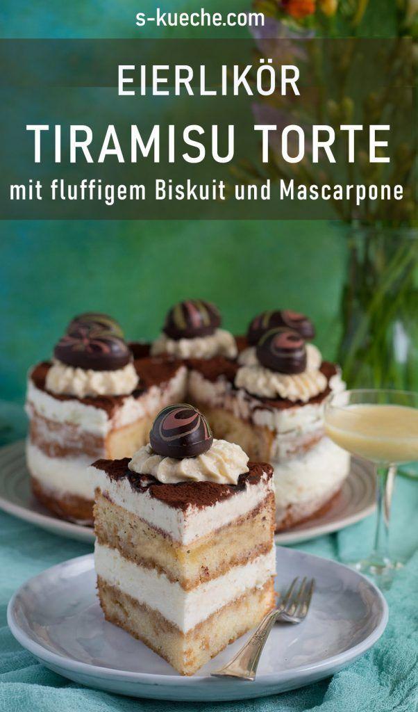 Eierlikör Tiramisu Torte - s-Küche