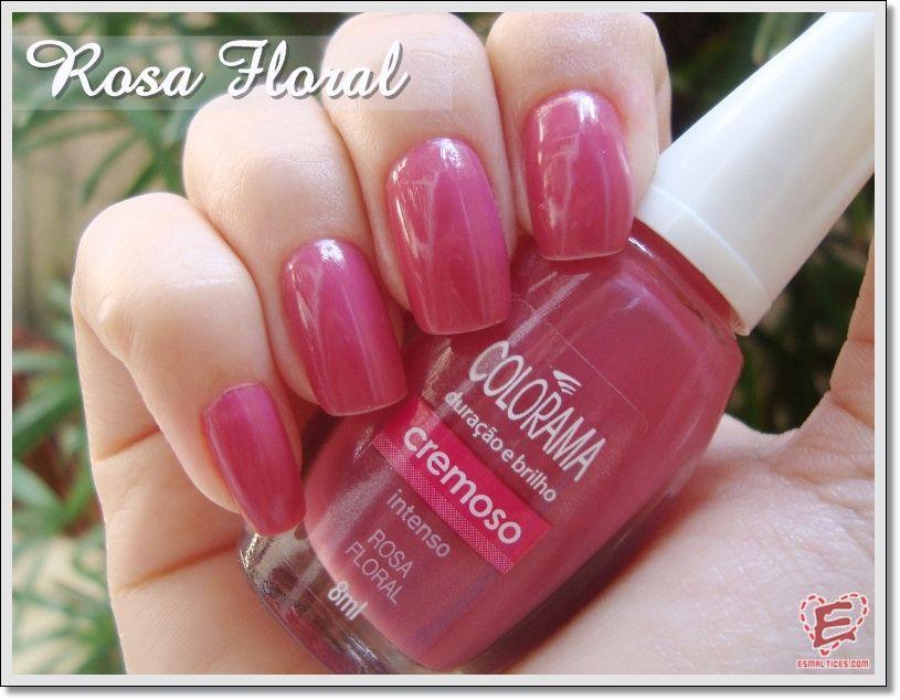 Rosa Floral - Pra quem gosta de um rosinha discreto e lindo!