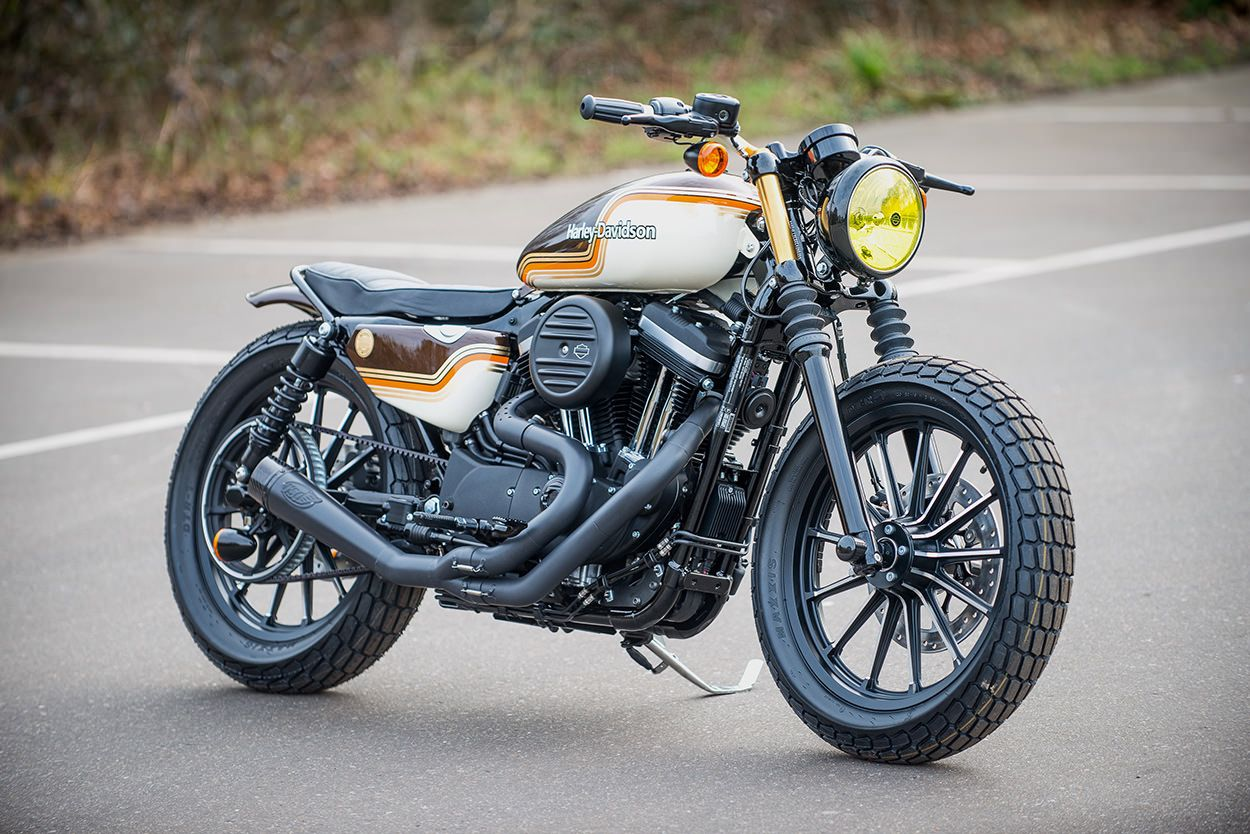 battle of the kings the iron 883 edition sportster iron iron 883 and bobbers. Black Bedroom Furniture Sets. Home Design Ideas