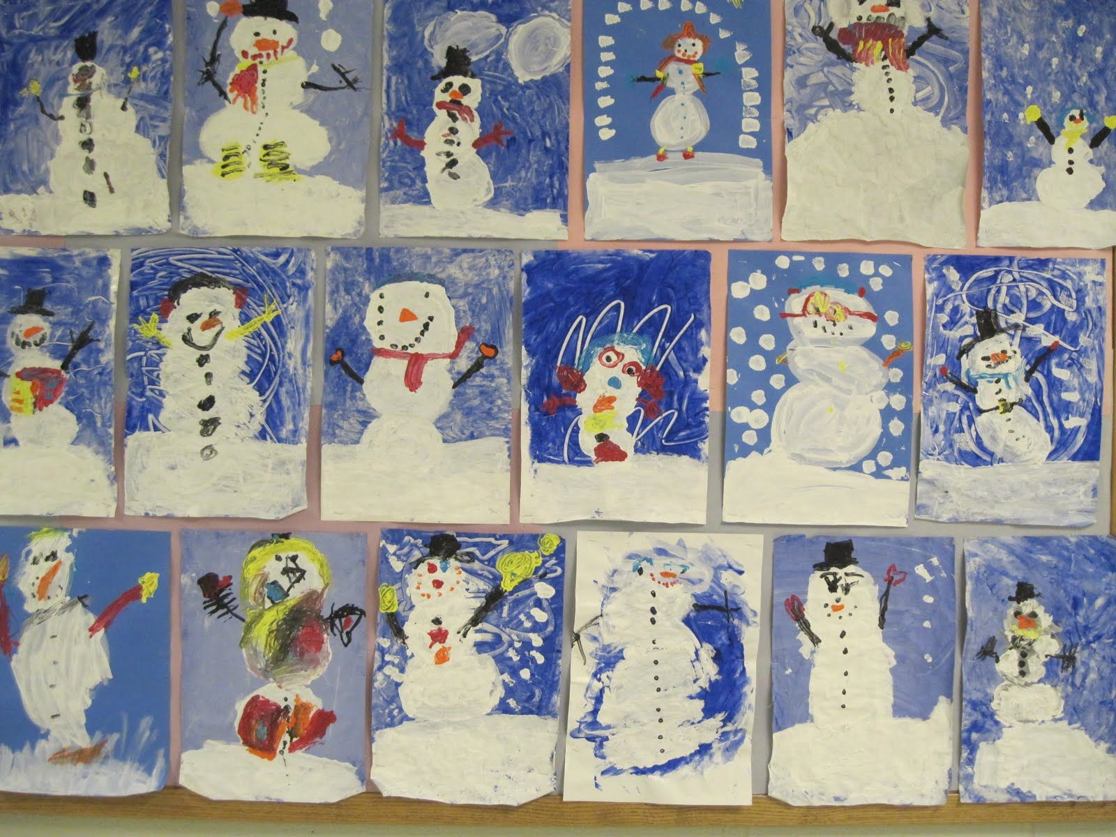 Pinterest Christmas Kindergarten Art Class