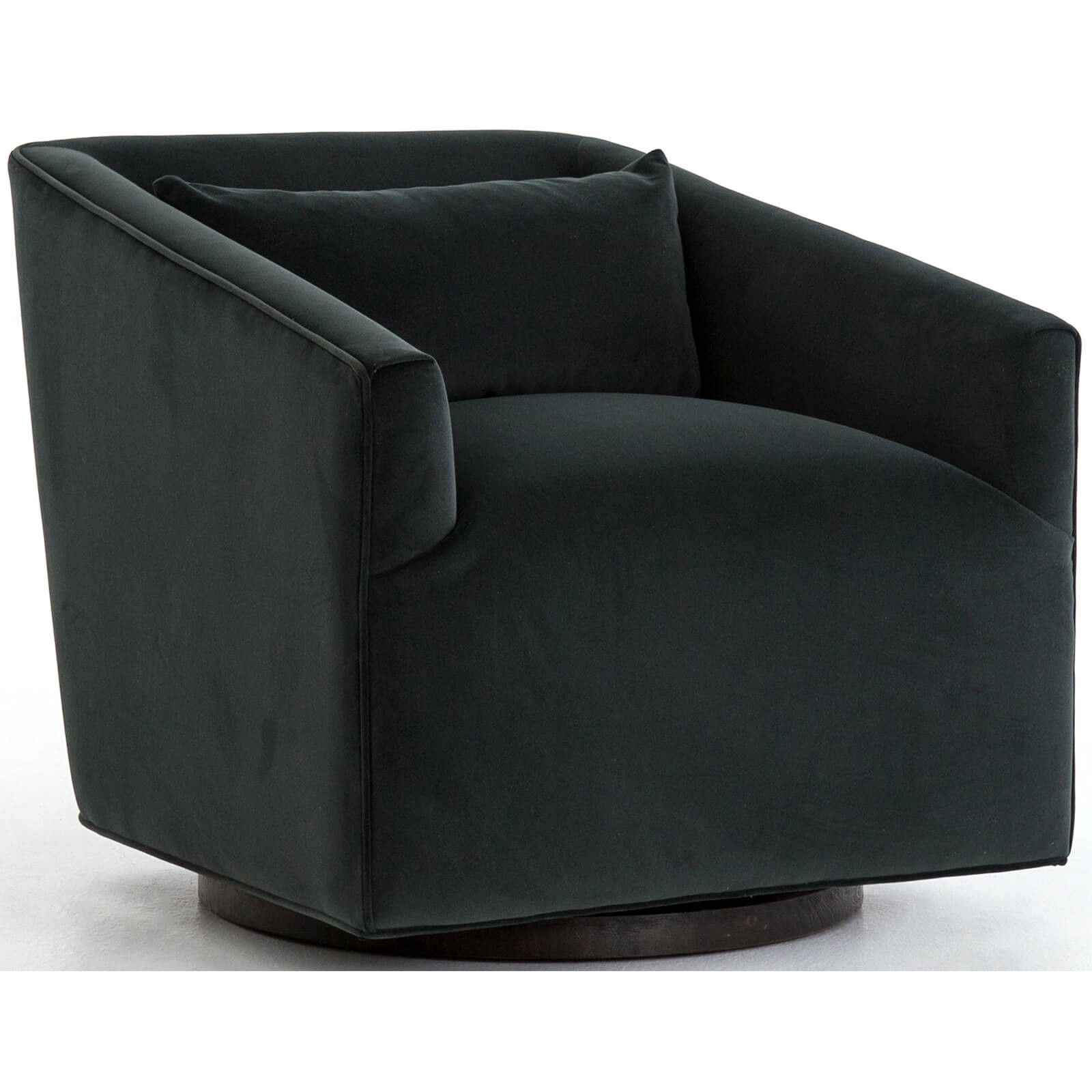 Swivel Chaise Lounge Chair Wing Recliner York Smoke Corporate Warehouse District