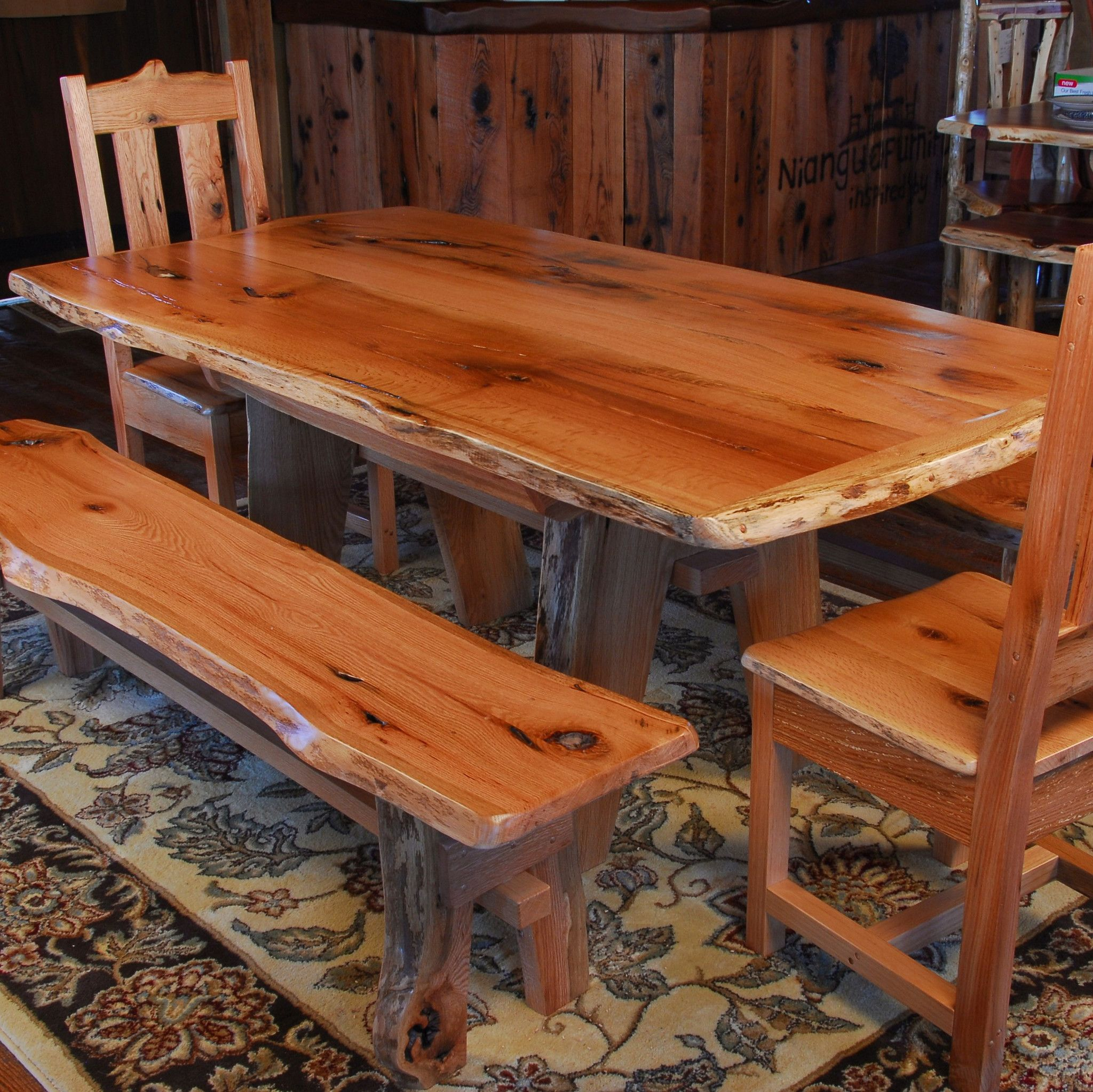 Rough Wood Table Google Search