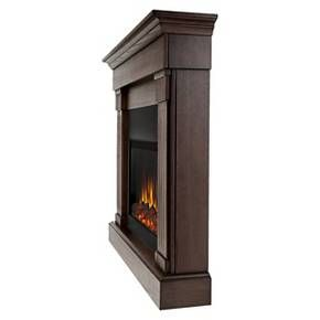 Real Flame - Crawford Slim Electric Fireplace : Target