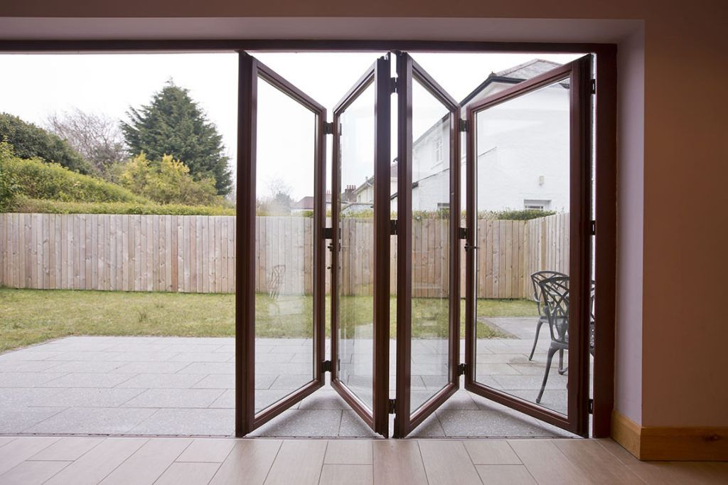 bi folding doors the bi fold door system allows you to maximise ...