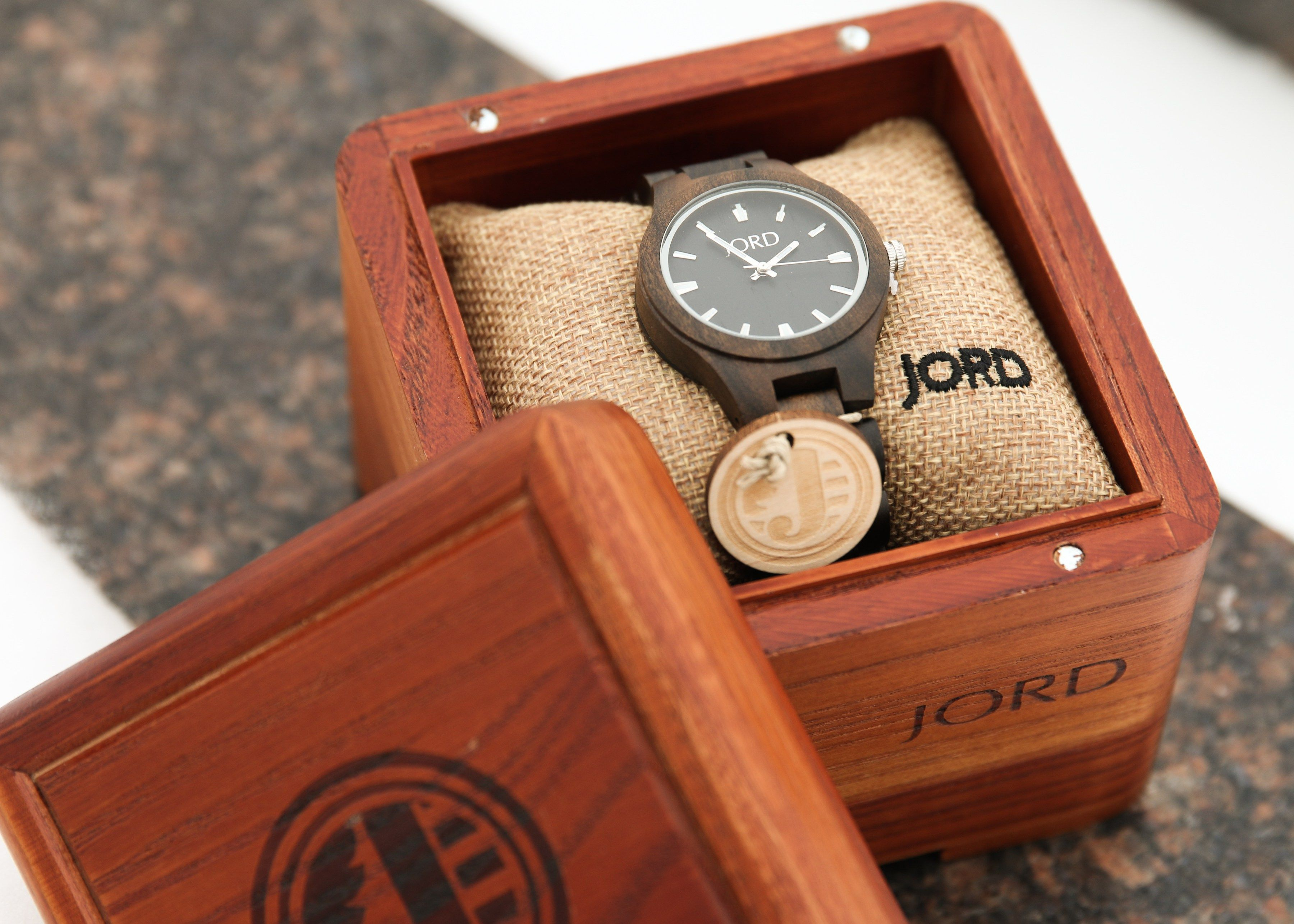 A meaningful valentines day gift for him engraved wood