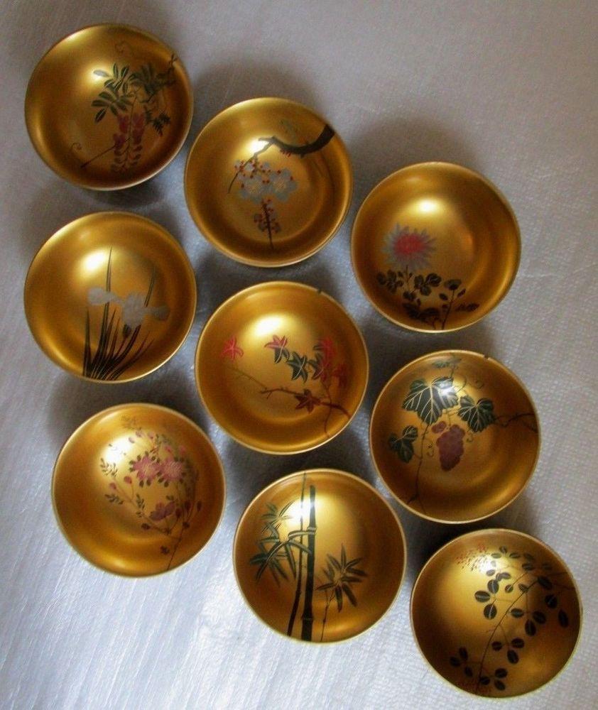 Lacquer Bowls Japan