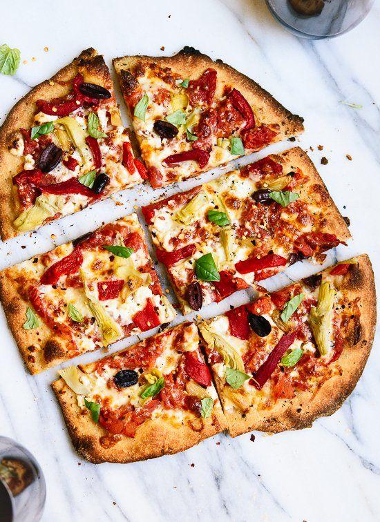 Greek Pizza Recipe Greek pizza, Food recipes, Pizza