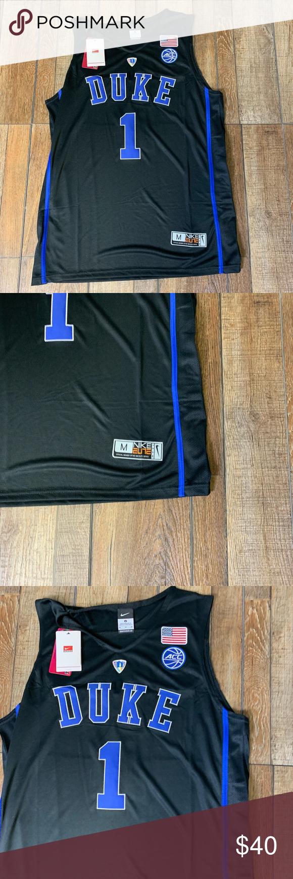 NWT Zion Williamson Duke University Jersey 🔥🔥🔥 Brand New Zion Jersey  Duke Blue Devils a02eae63f