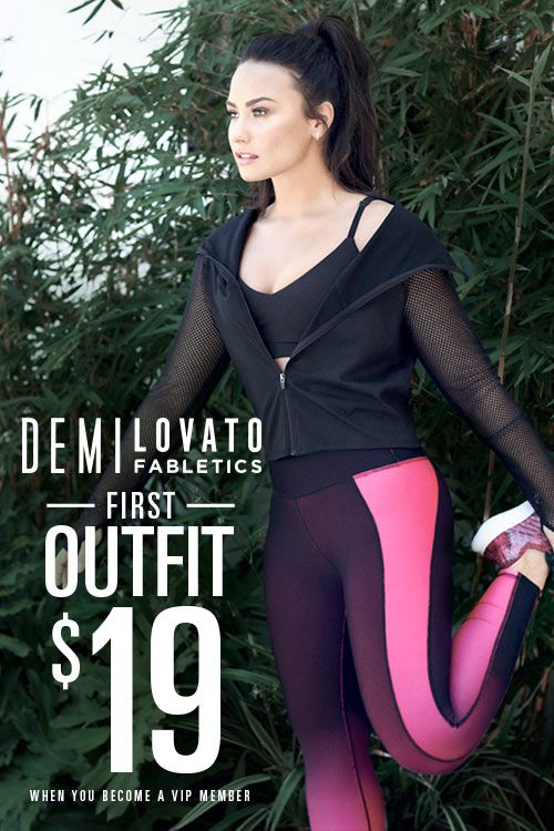 7efe124f9a Fabletics is Introducing the Demi Lovato Collection!! For a Limited Time