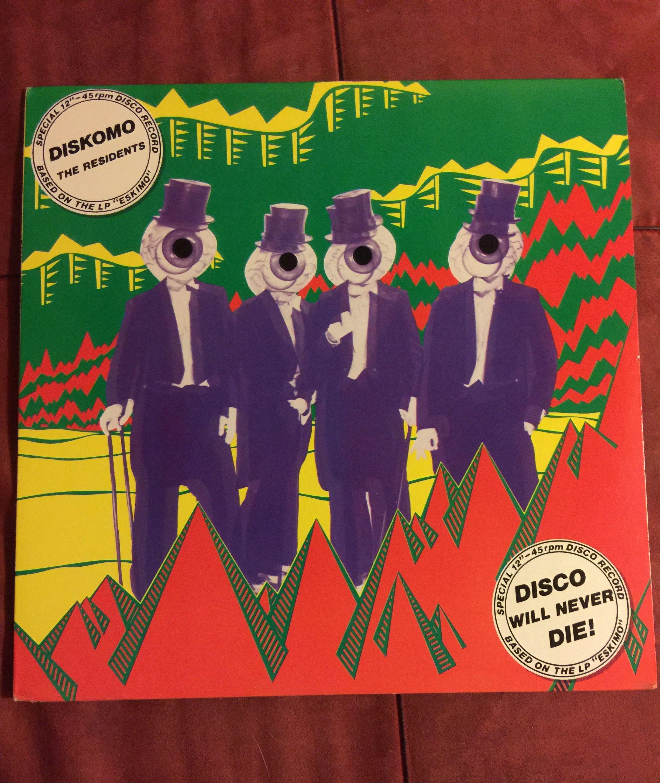 Diskomo Residents Green Wax Vinyl Records Resident Vinyl Records For Sale