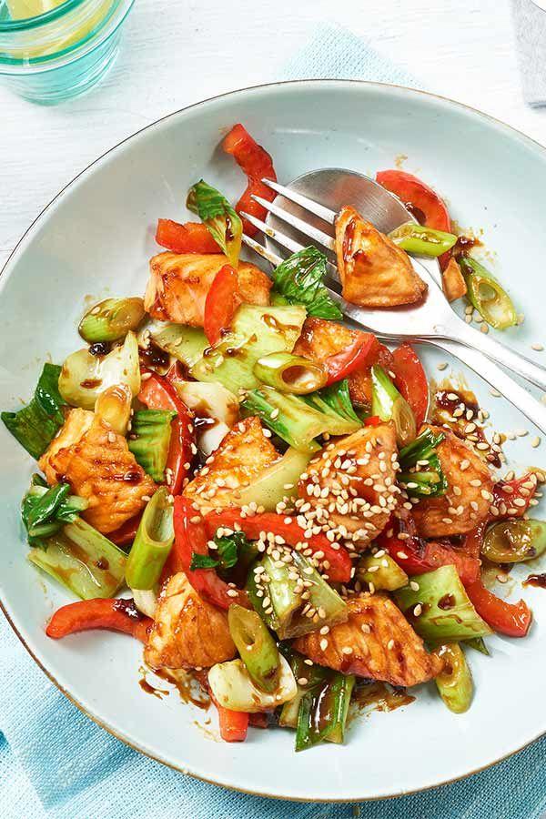 Photo of Teriyaki salmon with vegetables maggi.de