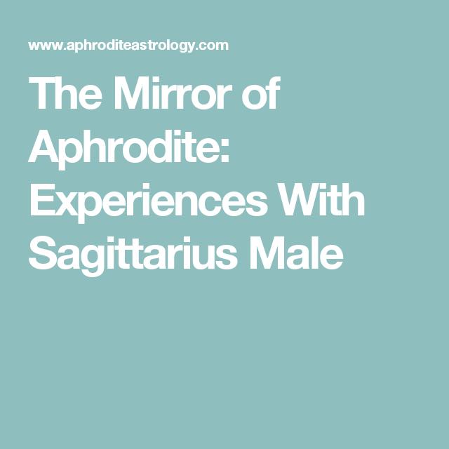 Dating a sagittarius male