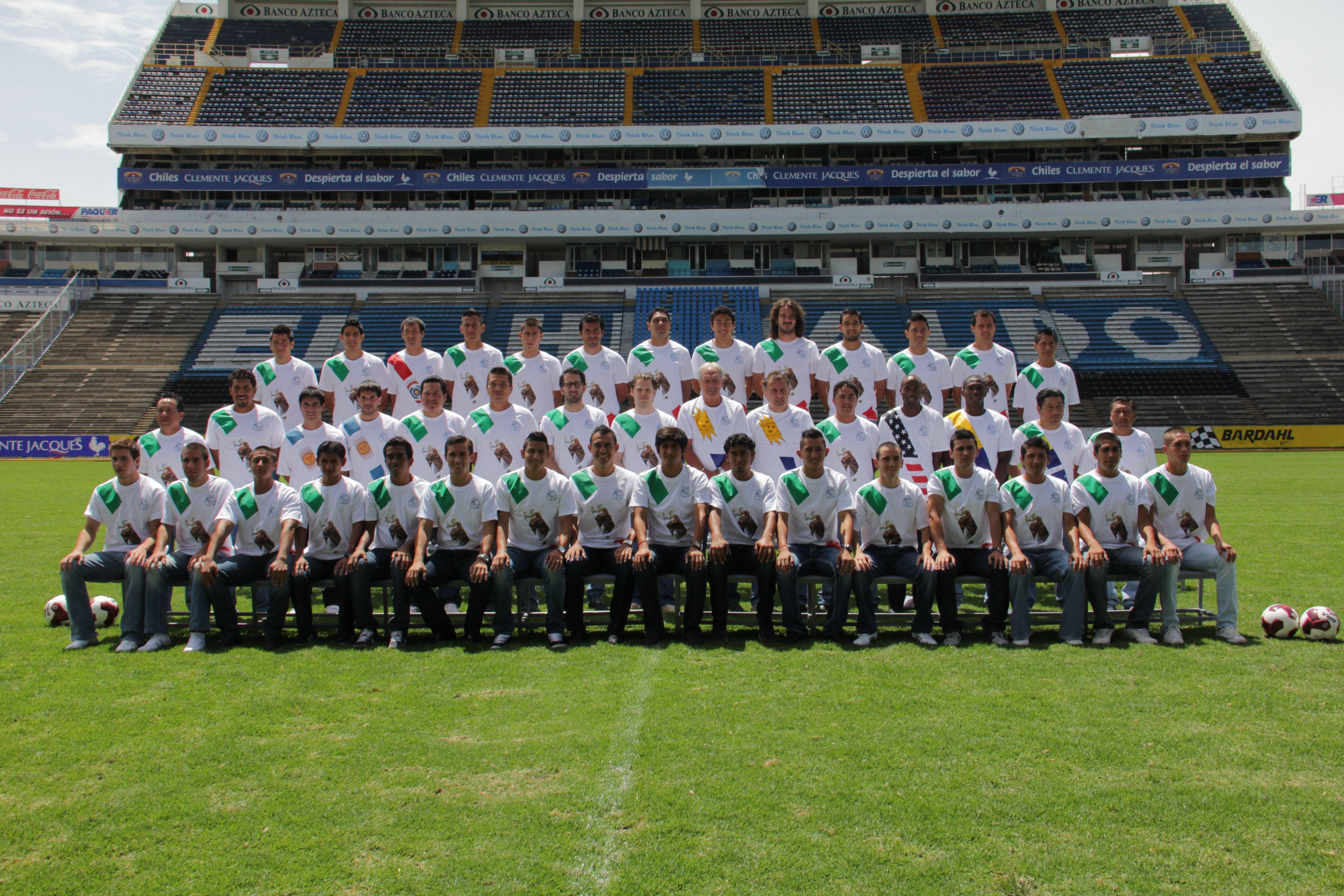 Pin en Puebla F.C