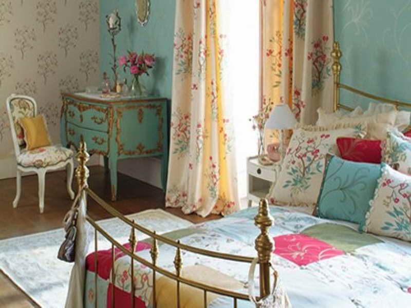 French Provincial teal Decorating Ideas   French Country Bedrooms ...