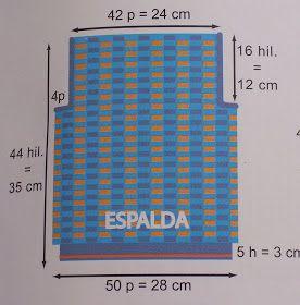 COLORES EN MI VIDA  CHALECO DE VERANO PARA BEBÉ  5396fcf511f1