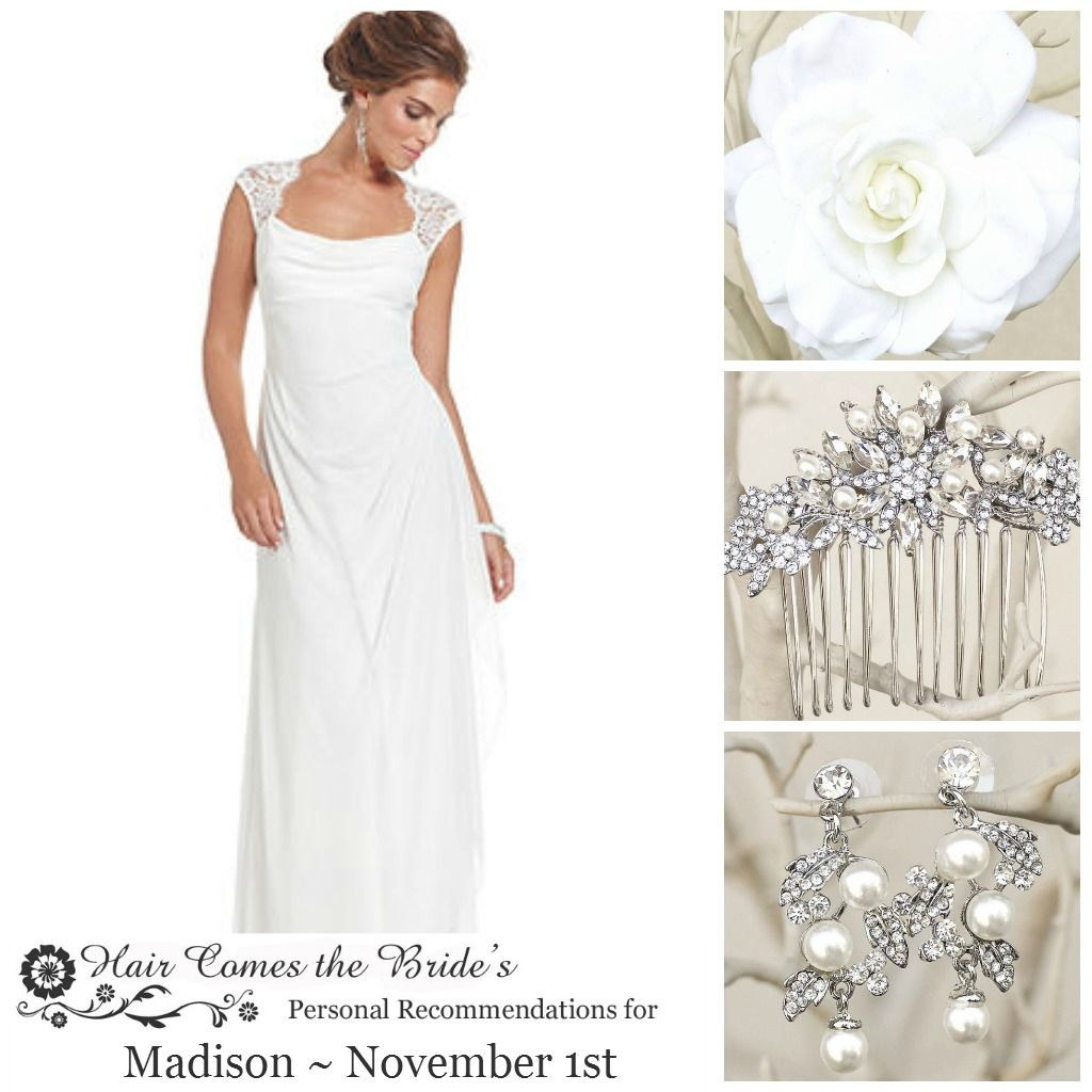 Complimentary Personalized Bridal Accessory Inspiration Board ~ #bride #bridal #wedding #bridalhairaccessories #weddinghairaccessories #bridaljewelry #weddingjewelry #bridalstyle #bridalbeauty #bridalstylist