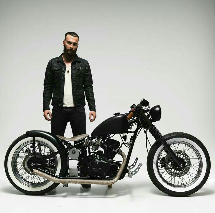 Custom Culture Bobber & Chopper Motorcycles Style, Tattoo