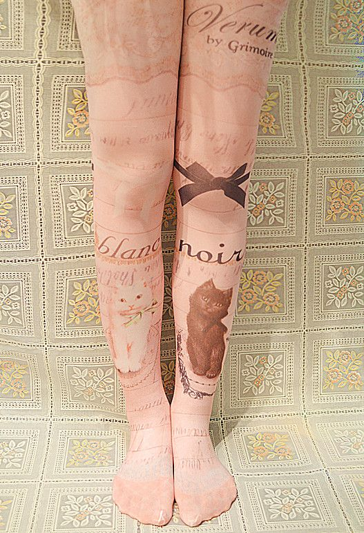 Bohemian Printed Tights