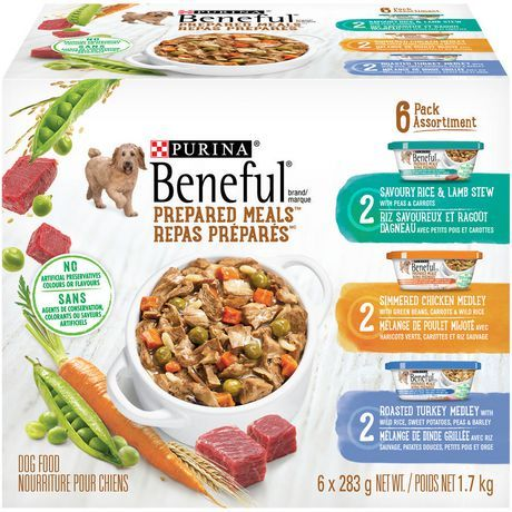 Purina Beneful Prepared Meals Variety Pack Food For Dogs Adult
