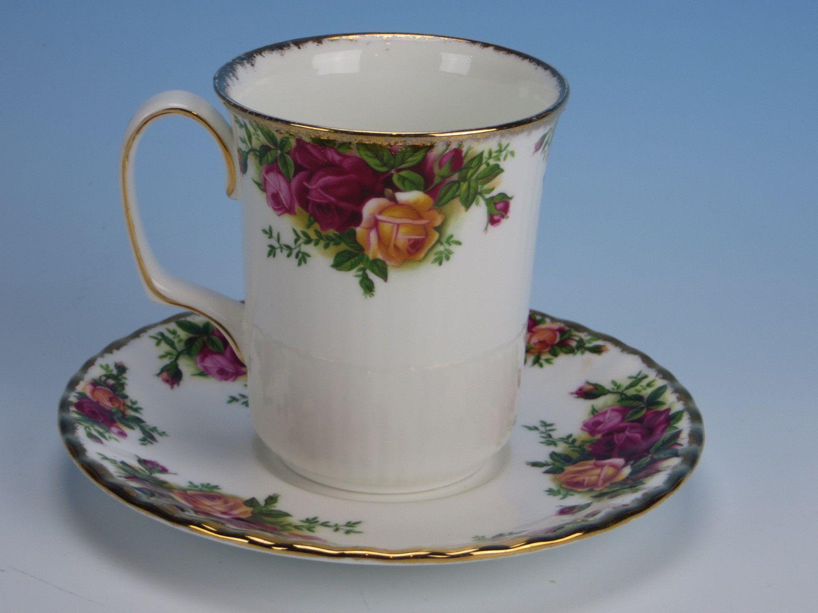 Royal Albert China Old Country Roses Coffee Mug
