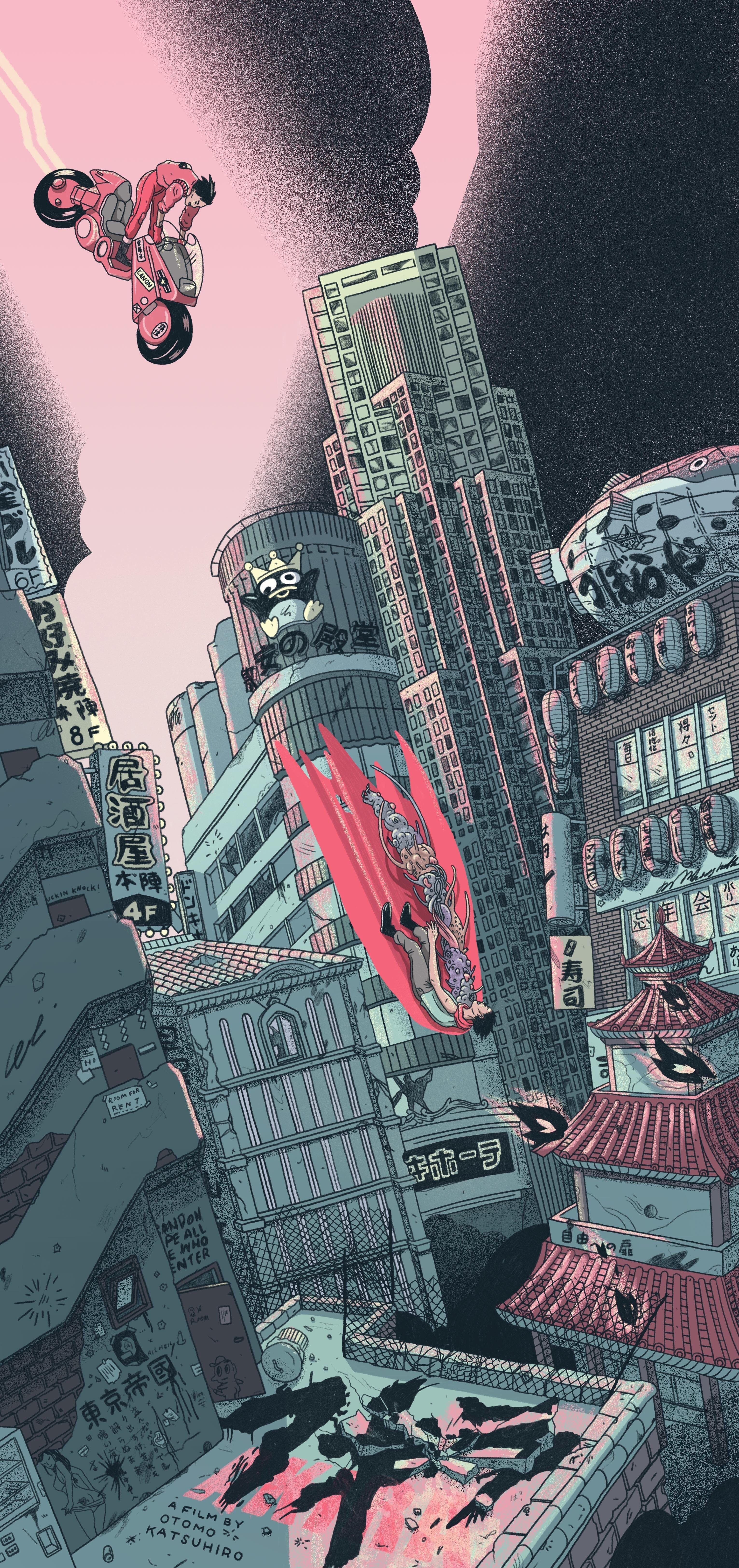 Akira em 2020 Akira mangá, Wallpaper animes, Walpaper