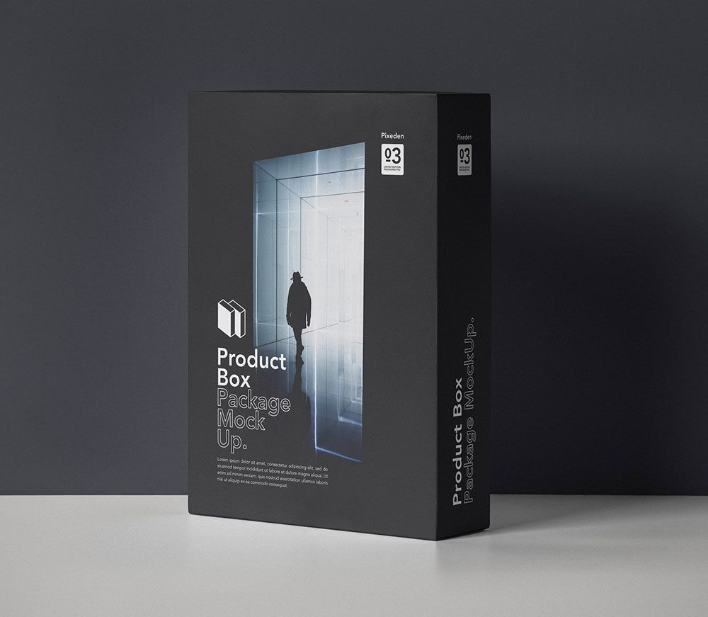 Download Free Product Box Package Mockup Box Mockup Box Packaging Box Packaging Design