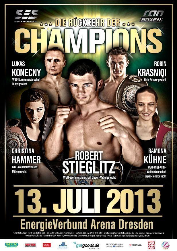 LIVESTREAM: Stieglitz vs Yuzo Kiyota, Hammer vs Laurén etc http://www.boxingguru.eu/ Sat 13th Jul: 9.20pm UK, 8.20pm CET, 4.20pm EST WBO super middleweight title Robert Stieglitz vs Yuzo Kiyota WBO...