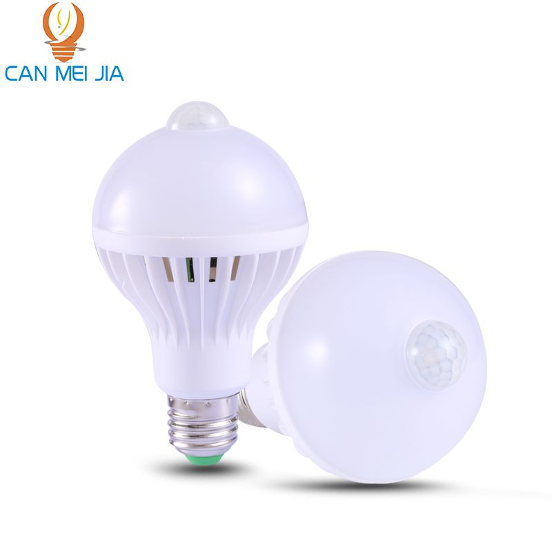 E27 Led Bulb Lights With Pir Motion Sensor Bulb 110v 220v 5w 7w 9w Energy Saving Lamp Bulbs Ampoule Bombillas Led For Hom Motion Sensor Lights Led Bulb E27 Led