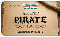 Free donuts 9/19/2012 on my favorite day