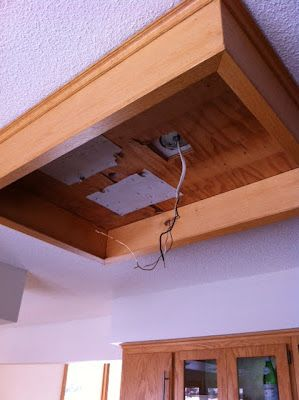 Fluorescent Light Box Removal 49 Kitchen Light Upgrade One
