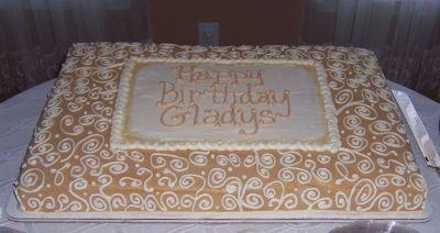 Full Sheet Cake For 70th Birthday Full Sheet Cake Birthday