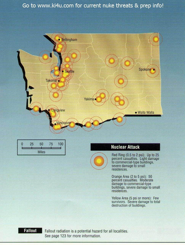 Washington targets Nuclear War Pinterest Target Survival