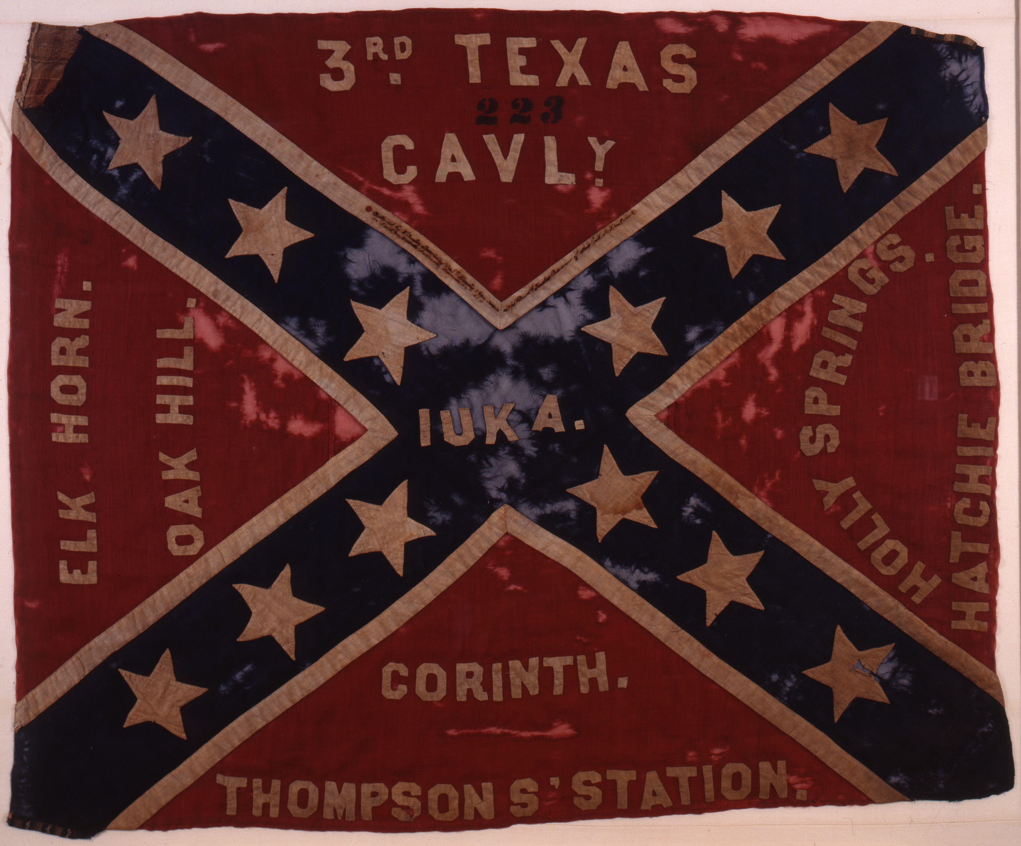 Battle Flag of the 3rd Texas Cav.