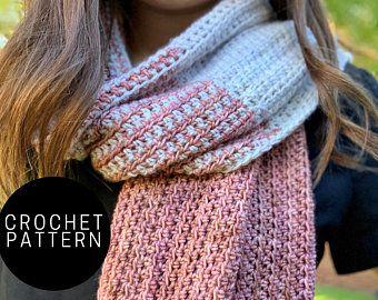 Crochet Scrunchie- Beginner Pattern, Digital Download PDF, Hair Accessory, 90s Fashion, DIY Scrunchies