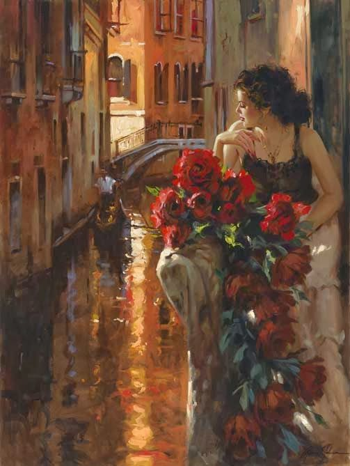 Richard S. Johnson, 1939 ~ Impressionist painter