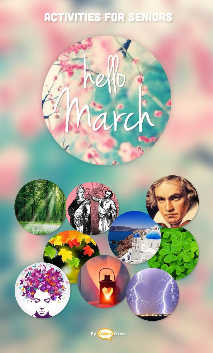 March Events & Ideas (With Images)