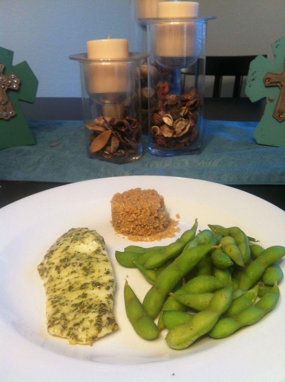 fattoworkoutmat Dinner ) Garlic Basil Tilapia Garlic