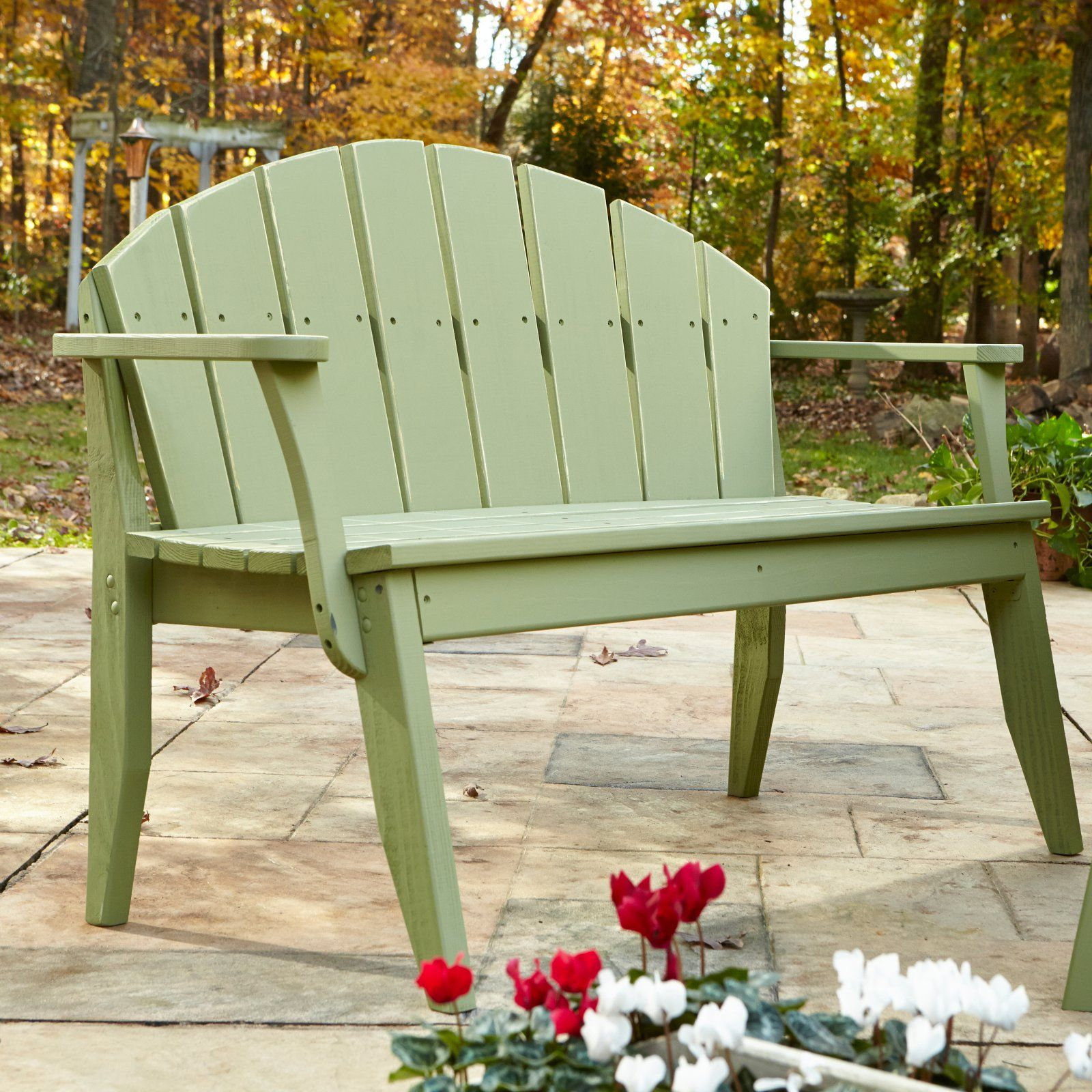 Fabulous Outdoor Uwharrie Plaza Patio Bench With Arched Back In 2019 Creativecarmelina Interior Chair Design Creativecarmelinacom