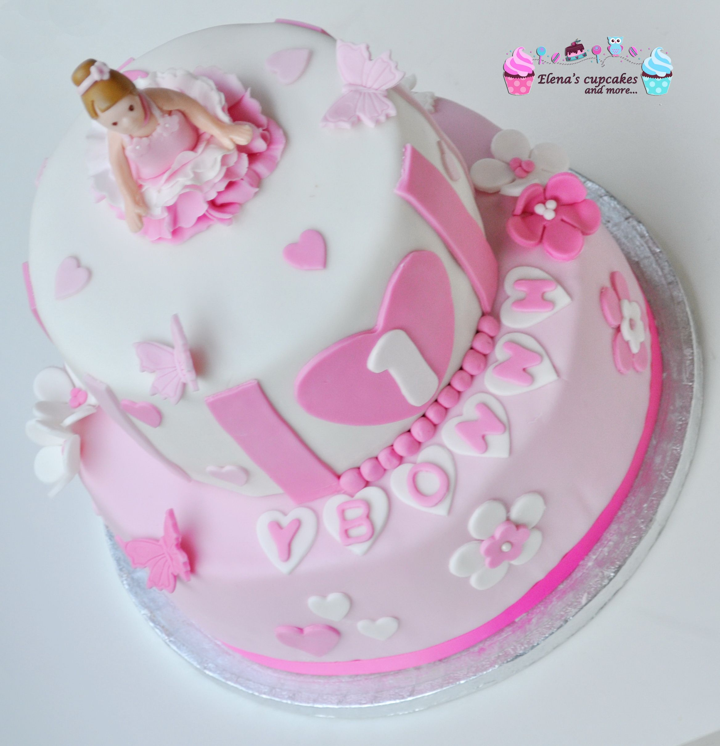 Ballerina cake - Τούρτα μπαλαρίνα