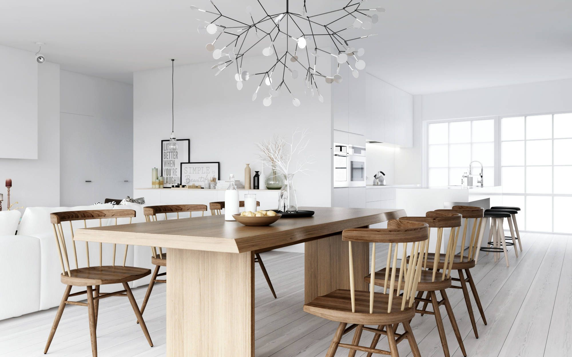 Scandinavian Interiors Are A Balance Of Functionality And Aesthetics There Isn T Just One S Scandinavian Dining Room Dining Room Design Nordic Interior Design