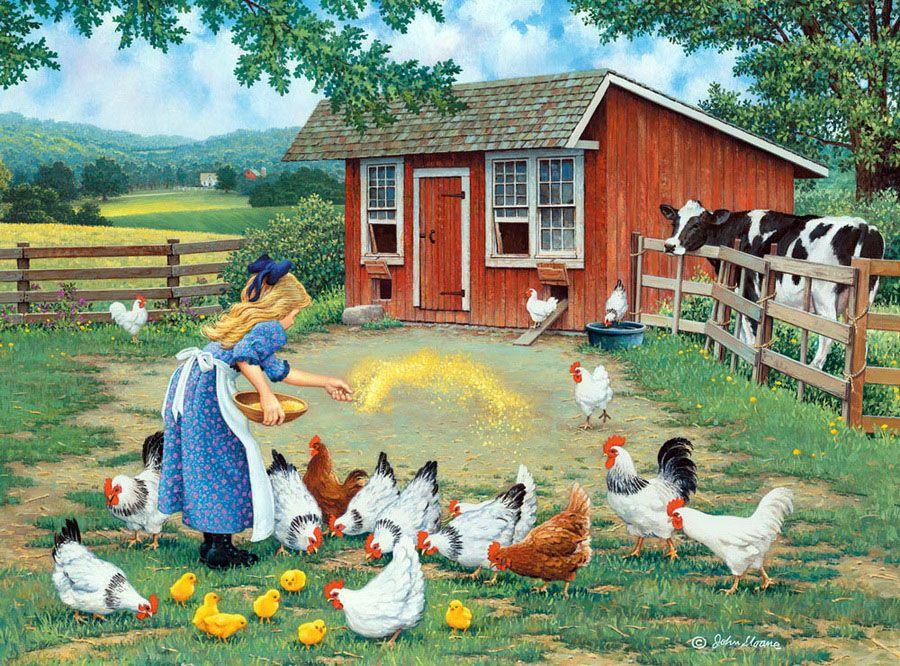 24 John Sloane Art ideas   country art, art, farm art