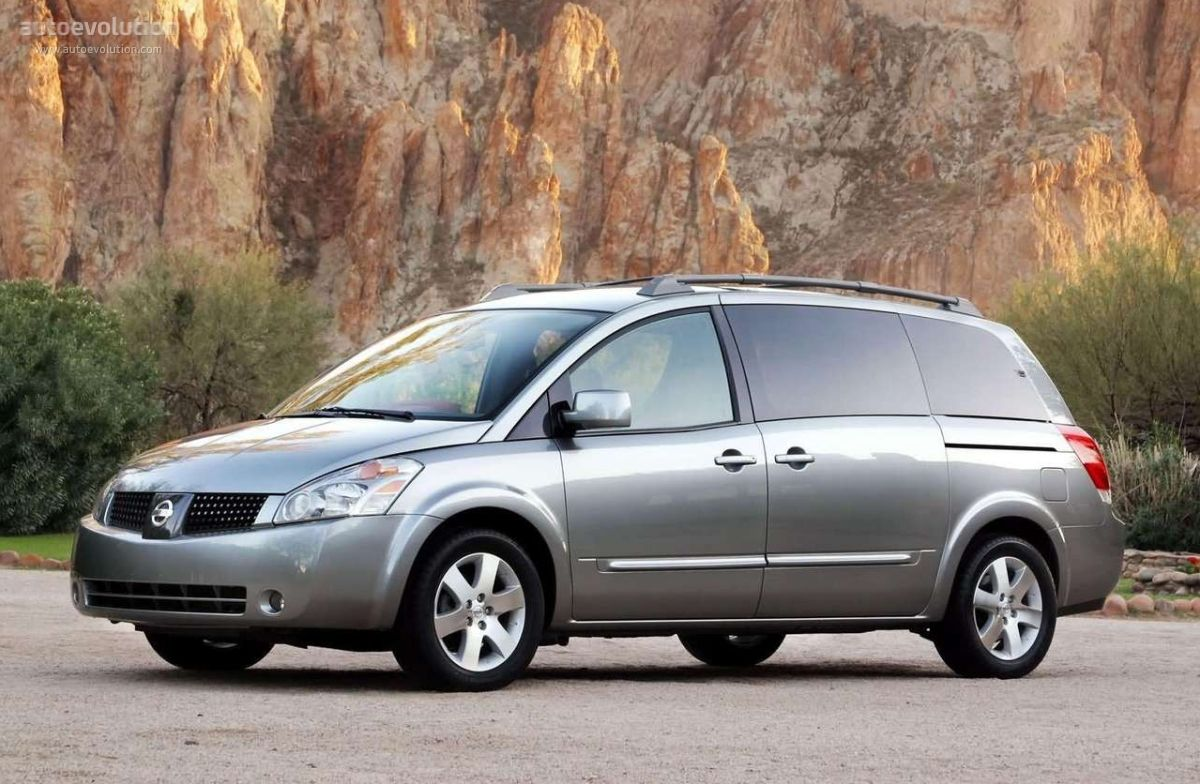 2004 Quest Minivan Monovolumen Familia