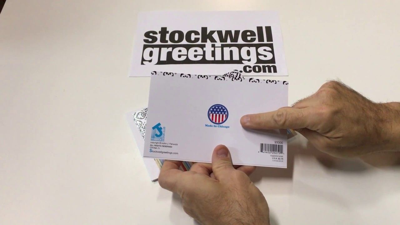 Paper Greeting Cards For The Wholesale Greeting Card Industry
