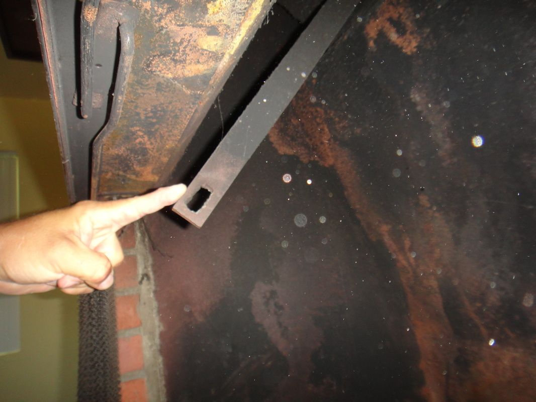 Fireplace Damper Handle