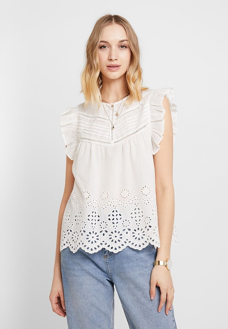 a2ee50e052f YASCHARIS - Blouse - star white @ Zalando.co.uk 🛒 in 2019 | clothes ...