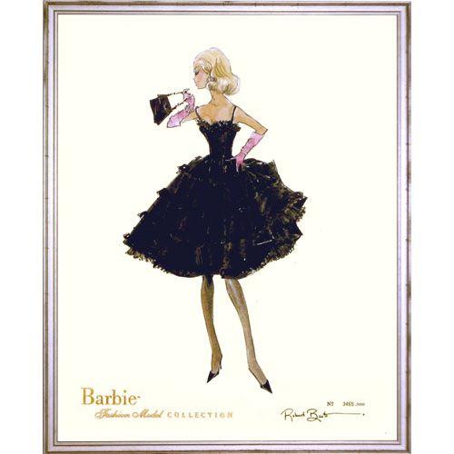 Limited Edition Vintage Sasha Barbie Print   More Barbie barbie ...